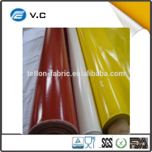 Taixing hecho Proveedor de Fábrica 1.0mm de caucho de silicona recubierto de fibra de vidrio de tela para la chaqueta de aislamiento