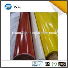 Taixing сделал завод Поставщик 1.0mm силиконовой резины покрытием стеклоткани для изоляции куртка