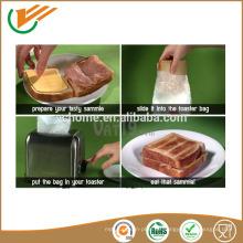 Einfach zu bedienen Packung 4 Wiederverwendbare Toastie Toaster Geröstete Sandwich Taschen