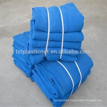 HDPE recycle material safety net used in construction scaffold net
