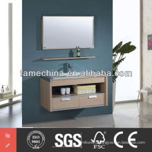 2014 Commercial floor standing bathroom sink cabinet