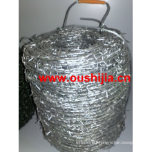 high quality 12 # 14# twisted barbed wire ( factory)