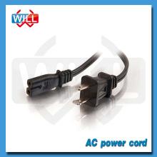 220v Cable de alimentación Cable con 2 Prong AC Male Plug a Socket eléctrico