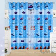 Cortina de la habitación de los cabritos de China, bordes de las barras de la cortina de los cabritos