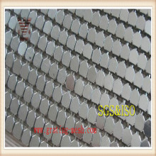 Grillage décoratif / maille de rideau en métal