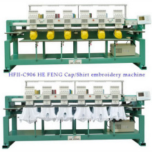 Computerized Automatic Cap / T Shirt Embroidery Machine 9 Needle