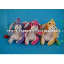 Lustige und niedliche weiche Plüsch-Esel-Spielwaren