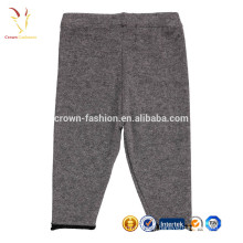 High Quality Baby Kids Cashmere Knit Pants Custom