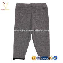Bebê de alta qualidade caçoa calças de malha de cashmere personalizado