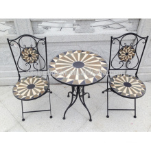 new arrival natural mosaic round table