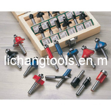 Wood Working Router Bit with Colourful Surface