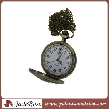 Antique Pocket Watches Alloy Pocket Watch with Chains