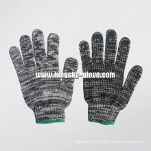 7g String Knitted Multi-Color Cotton Working Glove-2404