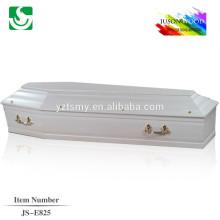 metal handles adult wood coffin
