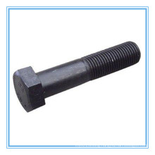 8.8 Grade Strength Shank Hex Head Bolt with Black