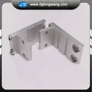 Five axis CNC milling machining aluminum parts
