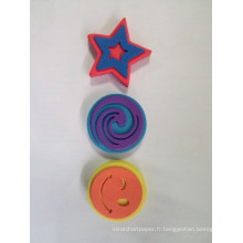 timbre en caoutchouc d'eva d'enfants