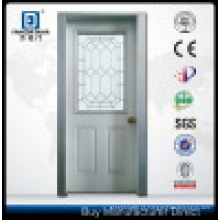 Porta de entrada de vidro Metade Lite Prehung