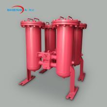 Корпус встроенного масляного фильтра сварного дуплексного типа