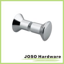 Cuarto de baño cromado sólido perilla de puerta (DKB06)