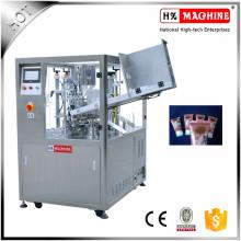 Máquina de Enchimento e Selagem de Tubos de Plástico Cremoso para Cosméticos