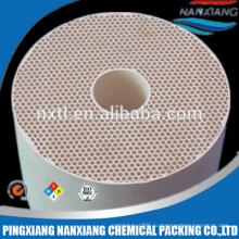 Керамические соты используют в теплообменнике
