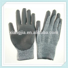 Gants de travail industriels enduits de caoutchouc naturel travail gant de sécurité, Gant de caoutchouc de sécurité minière industrielle enduit de protection