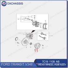 Pièces de rechange automatiques véritables pour le moyeu de roue arrière de Ford Transit 7C19 1109 AB
