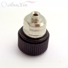 Black rf coaxial SMA male connector