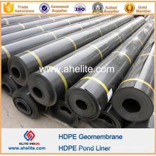 Doublure d'étang de géomembrane de HDPE pour le jardin de toit