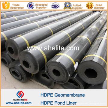 Geomembrana de PEAD para lixiviação de pilha de minério de cobre