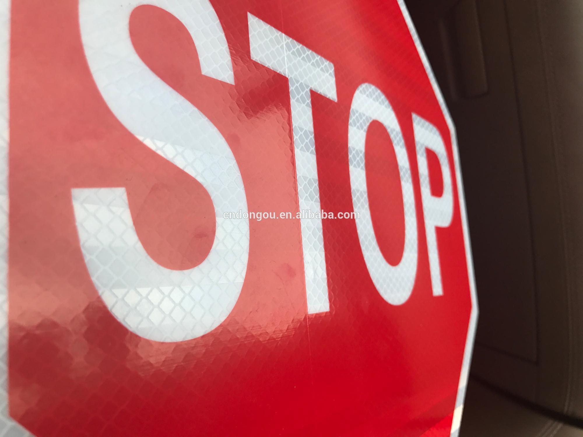 Reflective Aluminum Material Stop