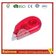 Cinta de corrección de color rojo para Offce Supply