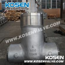 Válvulas de compuerta selladas de presión de acero fundido API 600