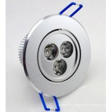 LED COB 7W LED Lumière LED Downlight LED Éclairage
