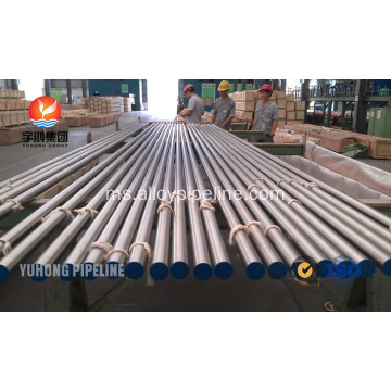Pipa Alloy Nickel Monel 400 ASTM B163