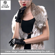 China fornecedor Luvas de couro para o inverno