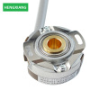 KN40 thin 20mm dc motor encoder disc linear encoder with UVW