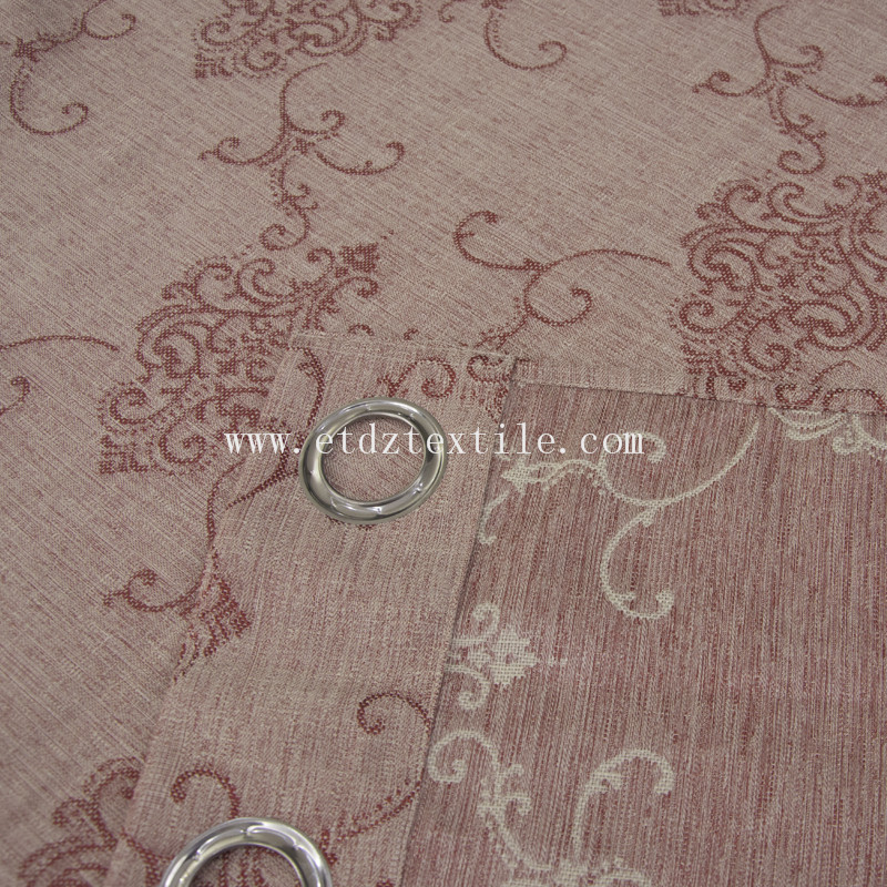 Typical Jacquard Curtain fabric 6019#