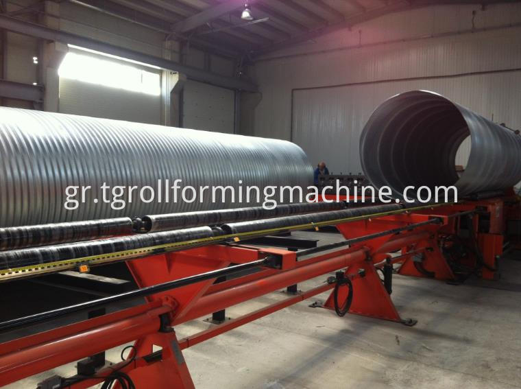 Metal Culvert Pipe Making Machine