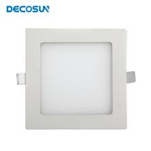 Recessed 6 12 15 20Watt30X30 Cm Led Flat Panel Lighting Aluminium Square 18W 300X300 Smd Led Ceiling Panel Light