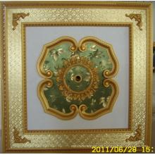 Burgund & Gilt Bracade Dekorative Künstlerische Decke Dl-1114-14