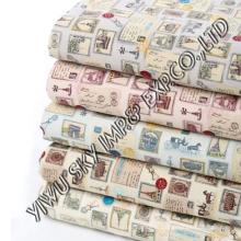 Детский дизайн полиэфирной ткани для простыни