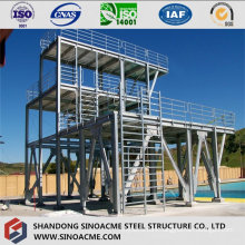 Galvanized Steel Structure Platform Wtih Multi Floors