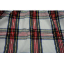Tissu à carreaux teint en fil 100% polyester