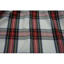 100% Polyester Spun Yarn Dyed Check Fabric
