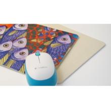 DIY Blank Sublimation Rectangle Mouse Pad, Beige Back