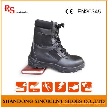 Bottes militaires en cuir véritable en gros pour hommes RS415