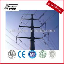 Two-Circuit Linear Power Pole ,35KV, 10KV