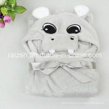Capa infantil Formas de animales Franela Súper suave chal de cachemira